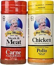 Carne Asada Chef Merito Beef and Chicken Seasoning Combo Pack 14oz