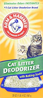Arm & Hammer Cat Litter Deodorizer with Activated Baking Soda 20 oz