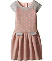 Us Angels - Burnout Scuba Raglan Sleeve Dress (Toddler/Little Kids)