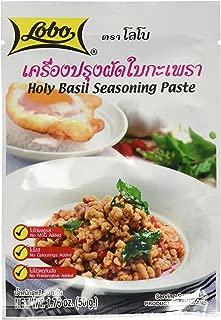 Lobo brand Thai Holy basil seasoning paste - 1.76 oz each (5 packs)