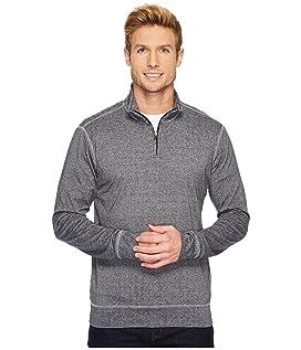 Rib Q-Zip Pullover