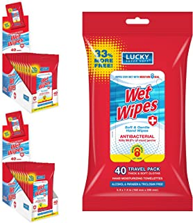 Lucky Super Soft Protection Wipes For Hands, Alcohol-free Hand Wipes With Active Ingredient For Effective Cleaning On The ...