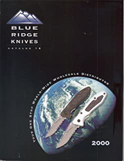 Blue Ridge Knives, Catalog 18, 2000 Edition