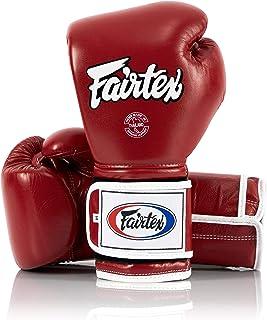 Fairtexタイ式ボクシンググローブbgv9–Heavy Hitterメキシコスタイル–マイナー変更ブラックwithイエロー配管121416オンストレーニング&スパーリング用手袋キックボクシング総合格闘技k1