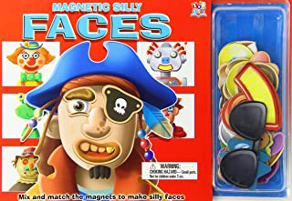 Magnetic Silly Faces: Mix and Match the Magnets to Make Silly Faces