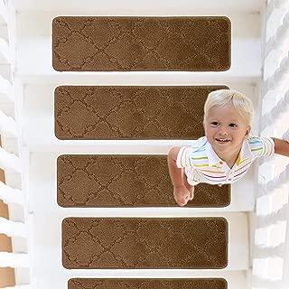 24x4 Anti Skip Pre Cut Adhesive Transparent Step Floor Strip Grip for Baby Elder Pet Safety Indoor Outdoor AUTOPkio 16 Pack Non Slip Stair Treads Tape
