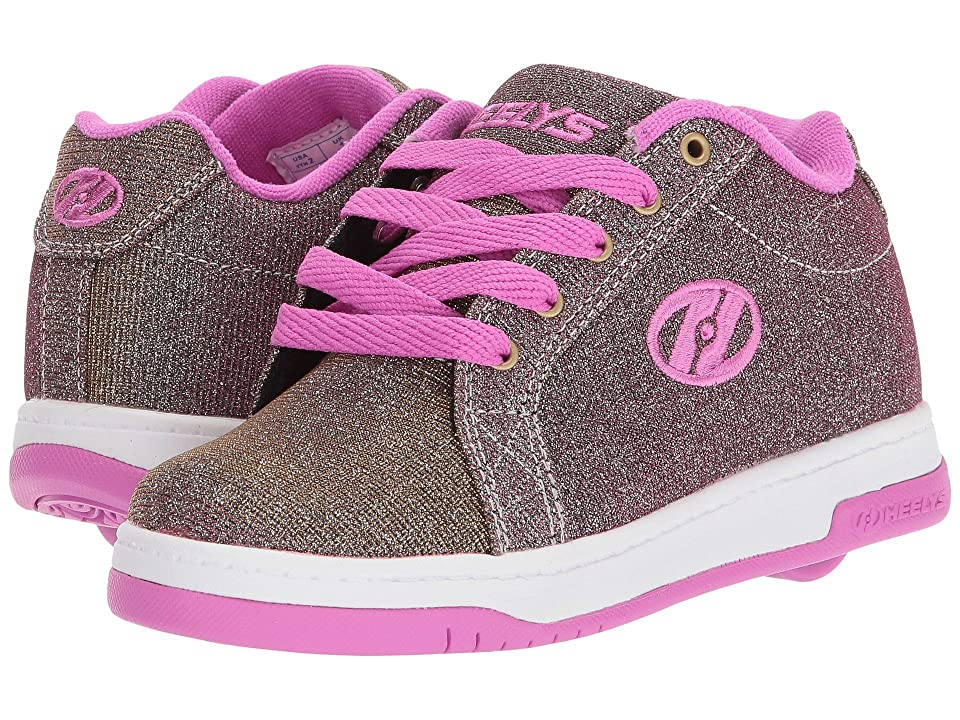 Heelys Split (Little Kid/Big Kid/Adult) (Gold/Berry) Kids Shoes
