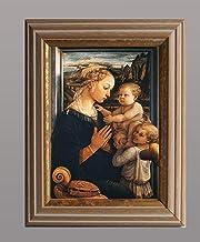 BiblioArt Series フィリッポ・リッピ「聖母子」額装品