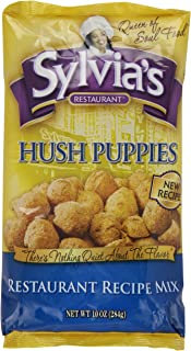 Sylvia's Hush Puppies Mix, 10 Ounce Packages (Pack of 9)