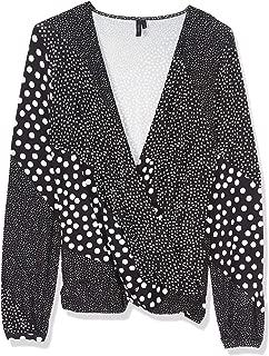 Vero Moda long sleeve top for women in Black, XL