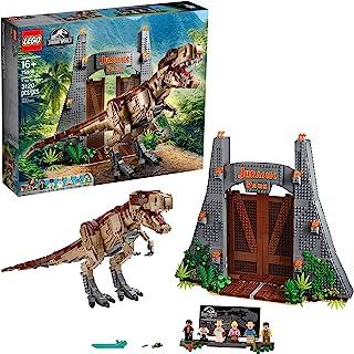 LEGO Jurassic World Jurassic Park: T. rex Rampage 75936 Building Kit, New 2020 (3120 Pieces)