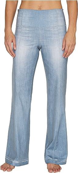 Lucy - Indigo Flare Pants