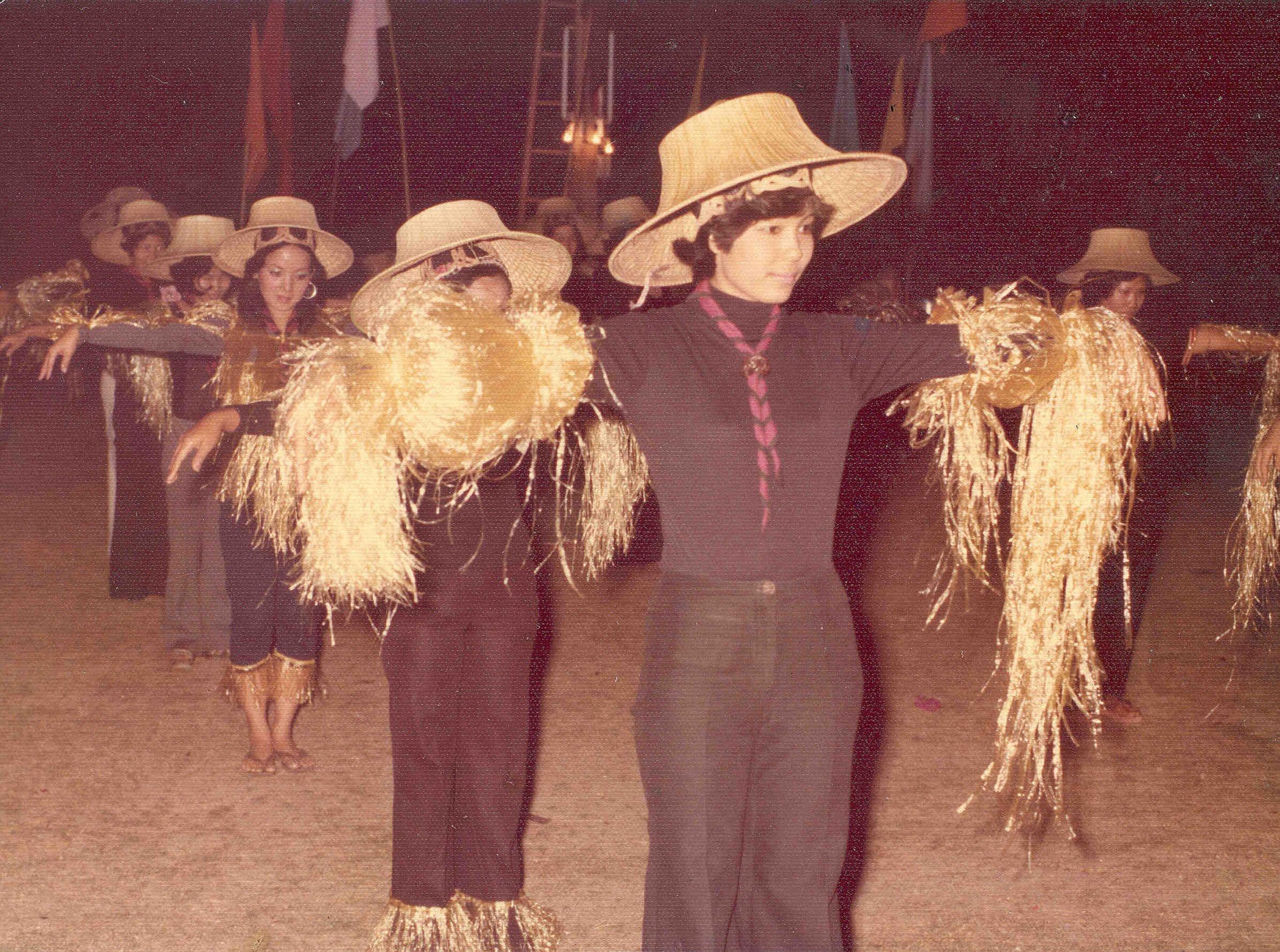 Thai Farmer Hat -Hand Woven Palm Leave/bamboo Hat