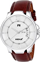 Redux Analogue Day and Date Functioning Men's Watch (White)