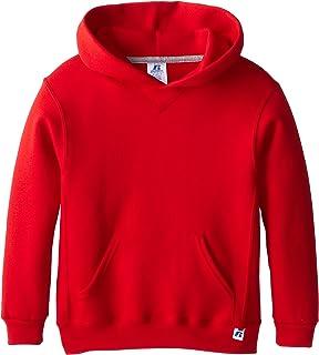 پیراهن های پسرانه Russell Athletic Boys Dri-Power Fleece ، هودی