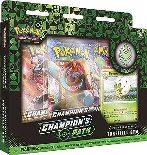 Pokémon POK814864 TCG: Champion's Path Pin Collection-Turffield, Hulbury and Motostoke Gyms (one at Random), Multi