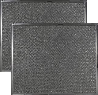 2-Pack Air Filter Factory Compatible Replacement for Maytag & Jenn Air PS2076846 AP4089729 Range Hood Downdraft Aluminum Grease Filters