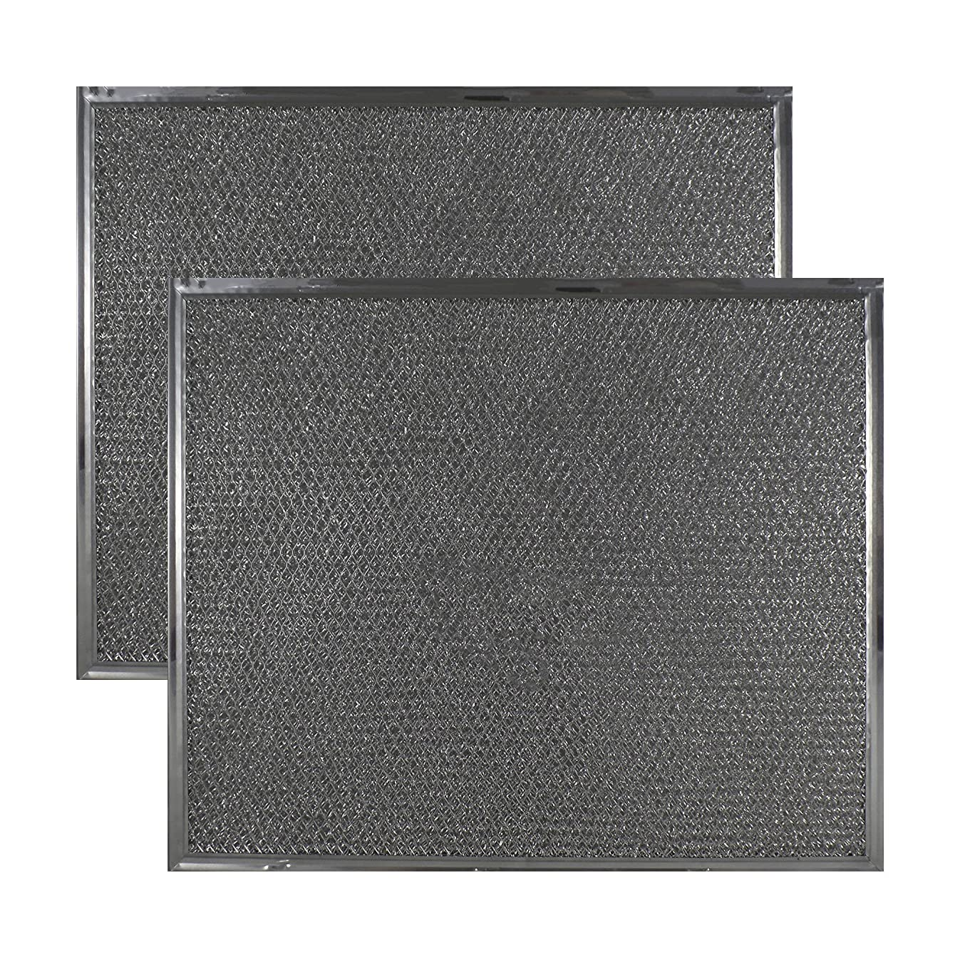 2-PACK Air Filter Factory Compatible Replacement For Maytag & Jenn Air PS2076846 AP4089729 Range Hood Downdraft Aluminum Grease Filter ivjqazzjhbqle49