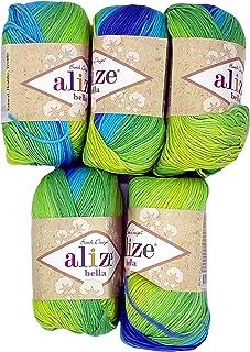 Yline Sortiment Amigurumi Wolle 8 Knäuel a. 10g, 100% Baumwolle ...   320x227