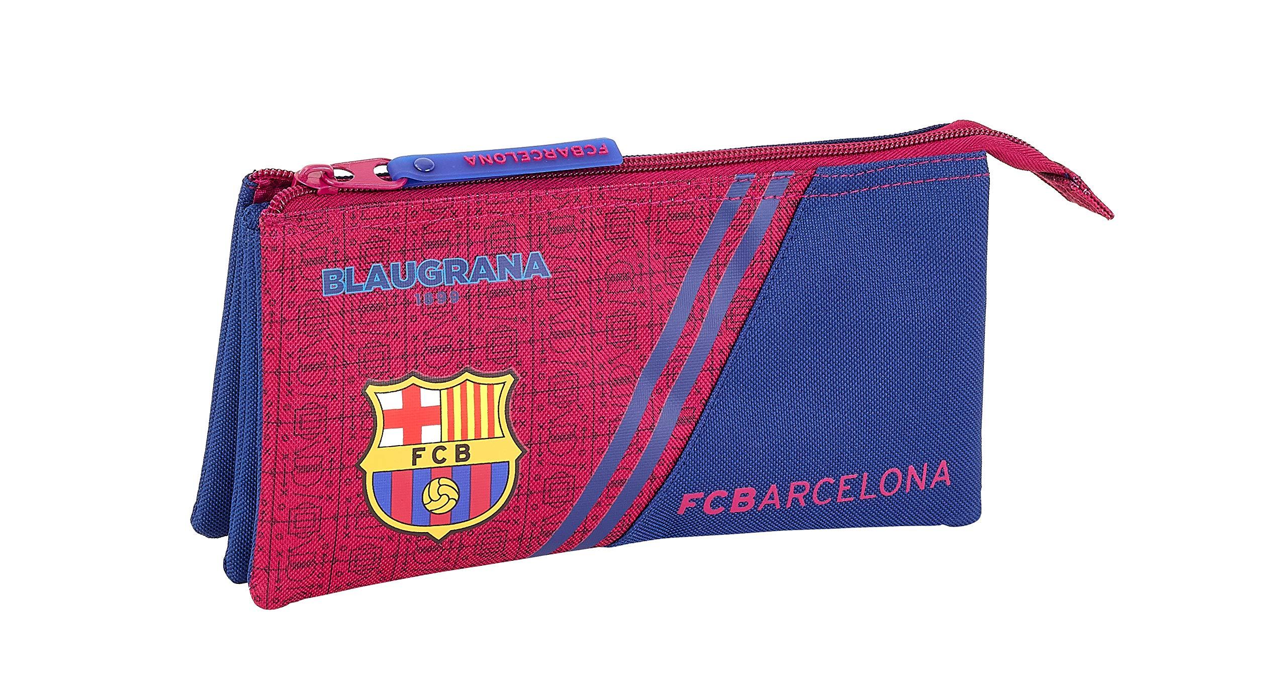 FC Barcelona Corporativa Oficial Estuche Escolar 220x30x100mm: Amazon.es: Oficina y papelería