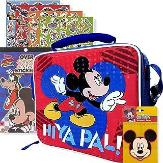 Disney Jr. Mickey Mouse Soft Rectangular Lunch Bag Set