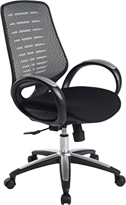 Leick Platinum Mesh Back Office Chair