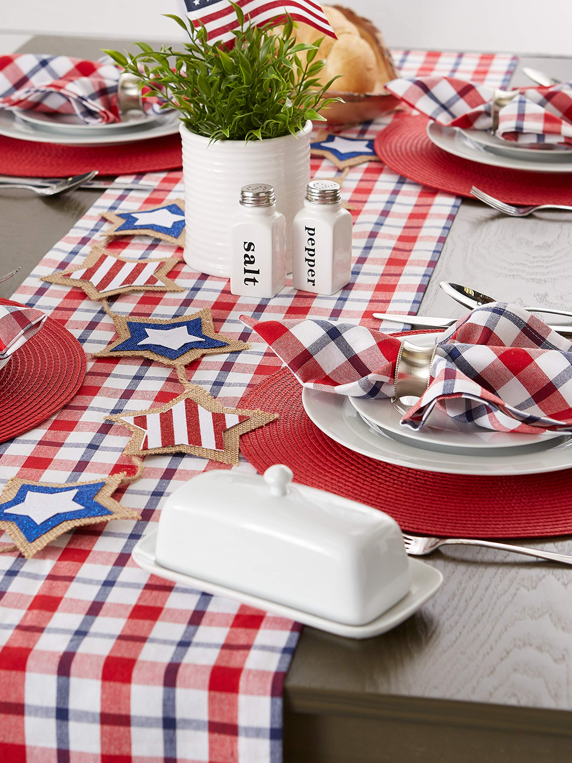 Dii Classic Round Placemats 15 Diameter Red Camz76069 Buy Online At Best Price In Uae Amazon Ae