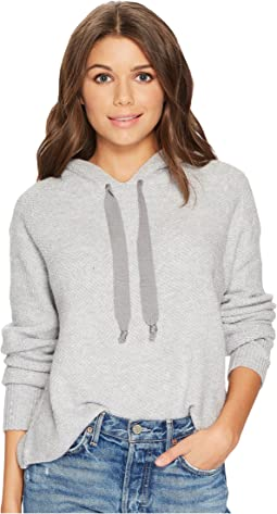 1.STATE Hooded Crop Sweatshirt