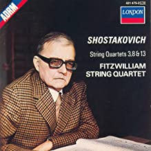 Shostakovich String Quartets 3, 8, 13
