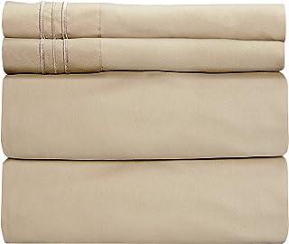 Split King Sheets for Adjustable Beds - Split King Adjustable Bed for Adjustable Mattress - Split King Sheet Sets for Adju...