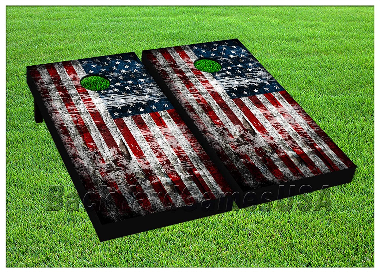 BackYardGamesUSA American It is very popular Beauty products Flag Series Premium Cornhole Boards -