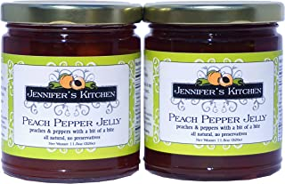 Jennifer's Kitchen Peach Pepper Jelly (Pack of Two)