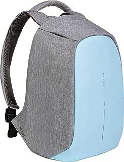 XD Design Bobby Compact Anti-Theft Laptop USB Backpack Pastel Blue (Unisex Bag)