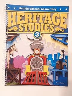 Heritage Studies 3 Activity Manual Answer Key