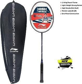 Li-Ning G-TEK GX Strung Graphite Badminton Racquet with Free Cover