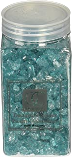Giftcraft Miniature/Fairy Garden Crushed Aquamarine Glass with Glitter