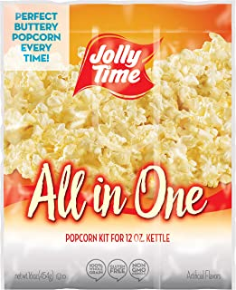 Jolly Time All In One Kit for 12 oz. Popcorn Machine