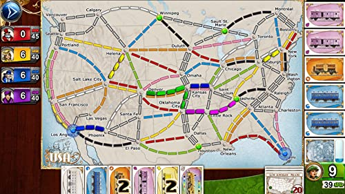 Ticket to Ride - 5