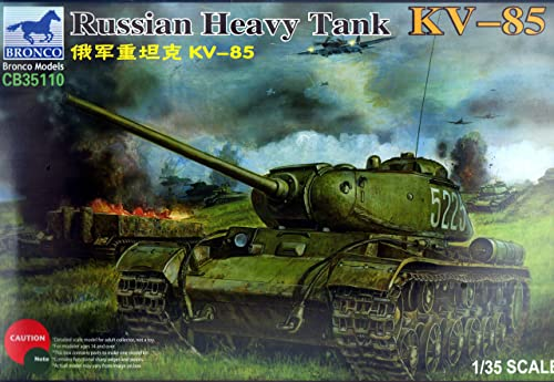 Unbekannt Bronco CB35110 - 1 35 Russian Heavy Tank KV-85