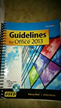 GUIDELINES F/MICROSOFT OFFICE 2013-TEXT