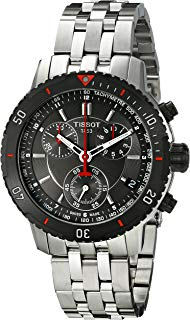 Tissot Men's T067.417.21.051.00 T-Sport Textured Dial Stainless Steel Watch