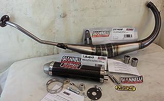 RMS - Código 33644HF + 33648HF - Tubo de escape de expansión con silenciador Giannelli, para Yamaha TZR 50(desde 2004a 2015)