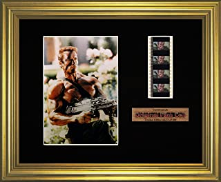 Commando - Framed filmcell picture (g)