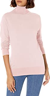 CHAPS Womens Long Sleeve Turtle Neck Cotton-Sweater