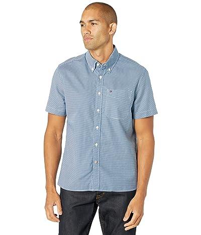 Tommy Hilfiger Essentials Short Sleeve Button-Down Shirt in Custom Fit