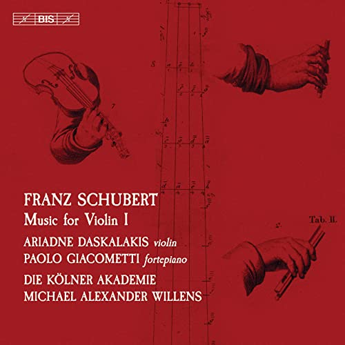 SACD Schubert Violin Music
