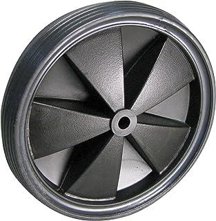 Dörner + helmer 709155L lichtgewicht wiel, PVC-banden met kunststof velg, zwart