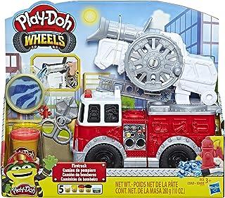 Play-Doh Wheels – Pate A Modeler - Le Camion de Pompiers