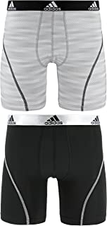 adidas Men's Sport Performance Climalite Boxer Brief Underwear (2 Pack)