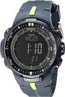 Casio - Reloj deportivo para hombre PRW-3000-2CR «Protrek» con correa de resina negra
